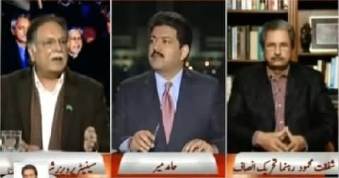 Capital Talk (Imran Khan Warns to Fight Till Last Wicket) - 16th February 2015