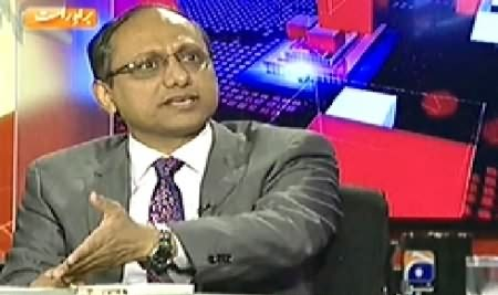 Capital Talk (Is Federal Govt Interfering in Sindh Govt) - 17th November 2014
