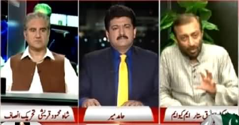 Capital Talk (Is Karachi Going to Be Changed?) – 9th April 2015
