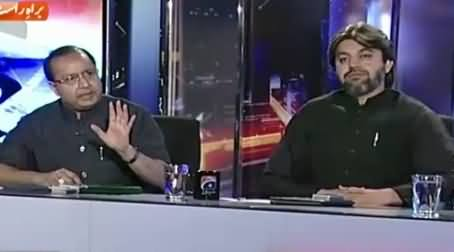 Capital Talk (Is PMLN Playing Double Game with PTI?) – 4th August 2015