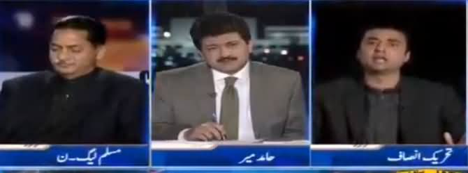 Capital Talk (Javed Latif Ne Murad Saeed Ko Maaf Kar Dia) - 9th March 2017