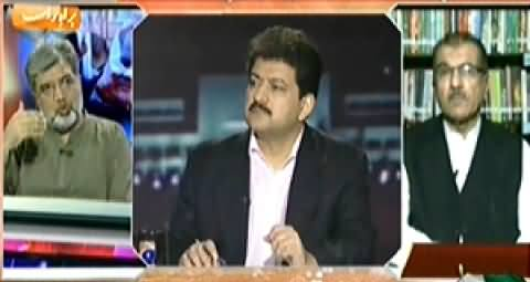Capital Talk (Joint Session of Parliament, What Govt Achieved?) - 19th September 2014