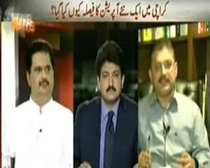 Capital Talk (Karachi Main Ek New Operation Ka Faisla Kyun Kia Gaya..?) - 28th August 2013