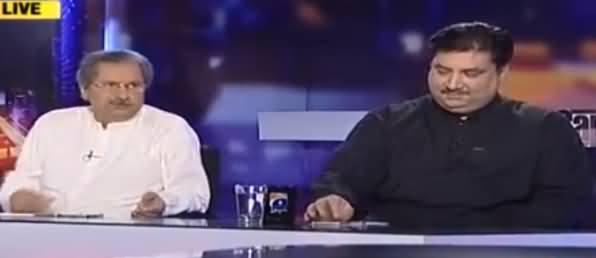 Capital Talk (Kashmir Par Parliament Ka Ijlas) - 6th October 2016