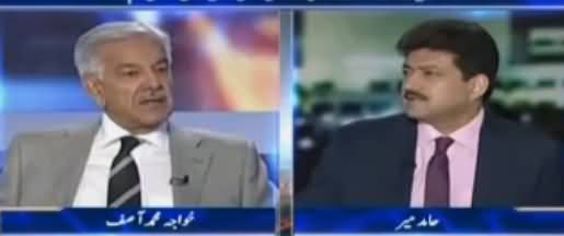 Capital Talk (Khawaja Asif Exclusive Interview) - 20th July 2017