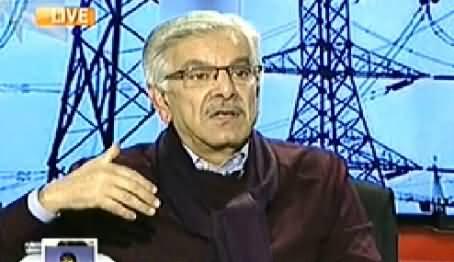 Capital Talk (Khawaja Asif Exclusive Interview) – 27th November 2014