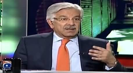 Capital Talk (Khawaja Asif Exclusive Interview) – 29th April 2015