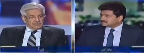 Capital Talk (Khawaja Asif Exclusive Interview) - 2nd November 2017