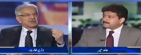 Capital Talk (Khawaja Asif Exclusive Interview) - 2nd October 2017