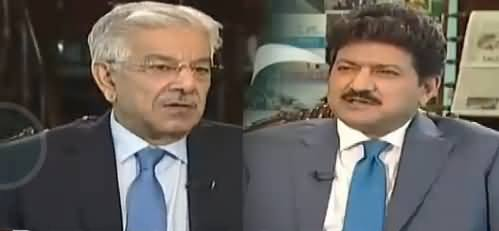Capital Talk (Khawaja Asif Exclusive Interview) - 5th April 2018