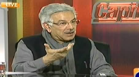 Capital Talk (Khawaja Asif Exclusive Interview on the Security of Pakistan) – 3rd March 2014