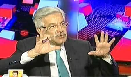 Capital Talk (Khawaja Asif Exclusive Interview with Hamid Mir) - 6th August 2014