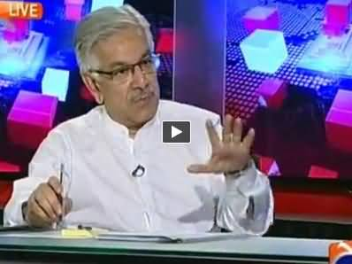 Capital Talk (Khawaja Asif Exclusive Interview with Hamid Mir) - 9th September 2014