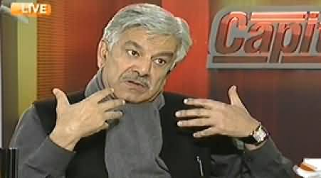 Capital Talk (Khawaja Asif Exclusive Interview with Hamid Mir on Loadshedding) – 1st January 2014