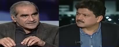 Capital Talk (Khawaja Saad Rafique Exclusive Interview) - 25th March 2020