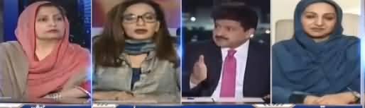 Capital Talk (Khawateen Ka Alami Din) - 8th March 2018