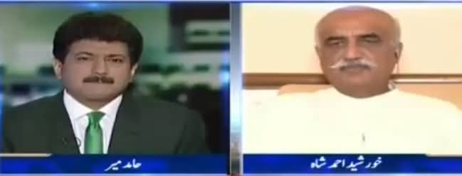 Capital Talk (Khursheed Shah Exclusive Interview) - 19th June 2017