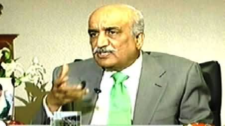 Capital Talk (Khursheed Shah Exclusive Interview) – 9th December 2014
