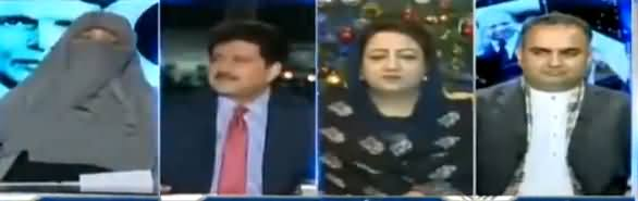 Capital Talk (Kia Aaj Ka Pakistan Qauid e Azam Ka Pakistan Hai) - 25th December 2017