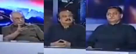 Capital Talk (Kia Nawaz Sharif Ne PMLN Ko Mushkil Mein Daal Dia) - 14th May 2018