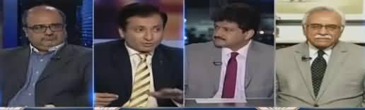 Capital Talk (Kia Nawaz Sharif Tauheen e Adalat Kar Rahe hain) - 15th February 2018