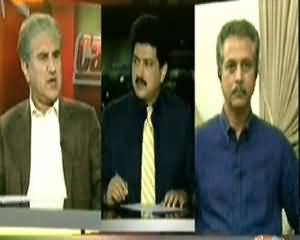 Capital Talk (Kya Drones Ke Khilaf Sari Parties Ek Ho Payenge?) - 11th November 2013