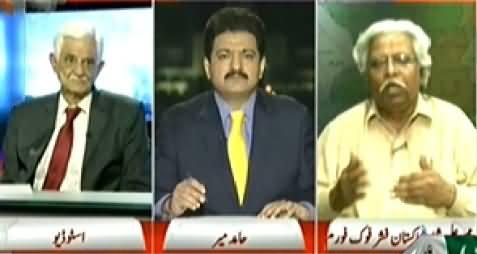 Capital Talk (Kya Nilofer Tofan Ka Khatra Tal Gya Hai?) – 30th October 2014