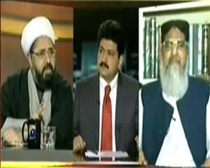 Capital Talk (Kya Ulama Mulk Ko Mutahid Karne Main Kamyab Hongeh?) - 19th November 2013