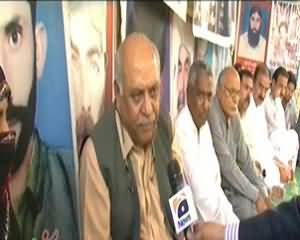 Capital Talk (Long March for Baloch Missing Persons) – 9th December 2013