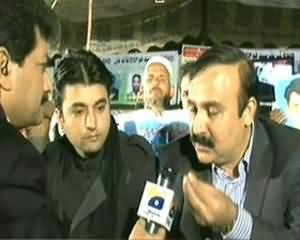 Capital Talk (Long March for Missing Persons) – 10th December 2013