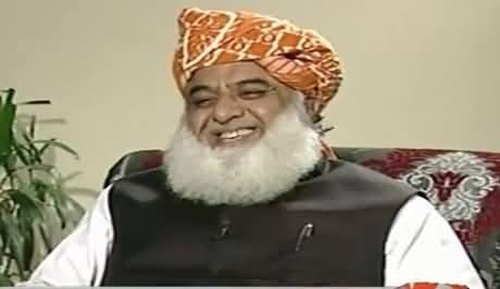 Capital Talk (Maulana Fazal-Ur-Reham Exclusive Interview) – 26th August 2015