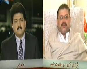 Capital Talk (MQM Ki Supprt Se Musharraf Ko Faida Hoga Ya Nuqsan?) - 8th January 2014