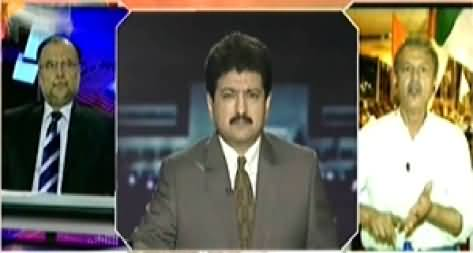 Capital Talk (MQM's Protest in Karachi on MQM Workers Arrests) – 25th September 2014