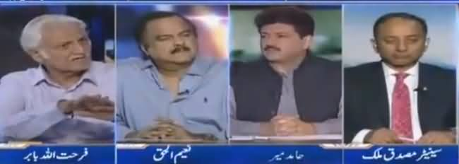 Capital Talk (Musharraf Not Accepting Court Orders) - 13th June 2018