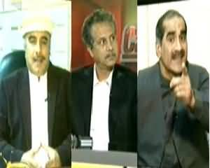 Capital Talk (NATO Supply Block Karne se Nuqsaan Kis Ka?) - 25th November 2013