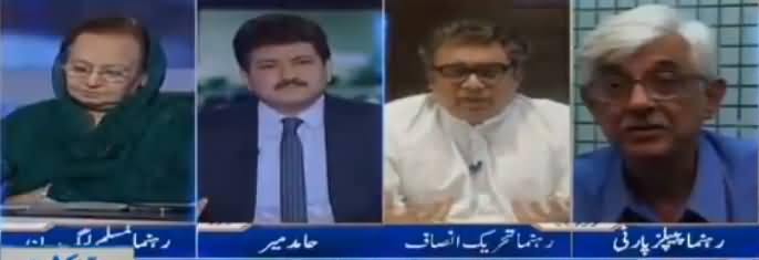 Capital Talk (Nawaz Sharif Ka Bayania Kidher Gaya) - 17th July 2018