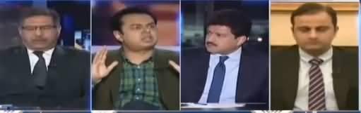 Capital Talk (Nawaz Sharif Ki Adlia Per Tanqeed) - 29th January 2018