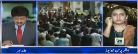 Capital Talk (Nawaz Sharif Ki Rally, Kitne Aadmi Thay?) - 9th August 2017