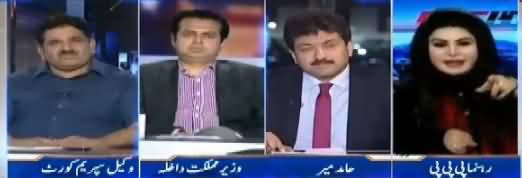 Capital Talk (Nawaz Sharif Party Sadar Banein Ge Ya Nahi?) - 25th September 2017