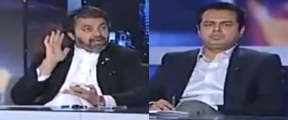 Capital Talk (Nawaz Sharif Per Ghaddari Ke Ilzamat) - 16th May 2018