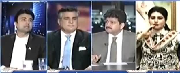 Capital Talk (Nawaz Sharif Se Resignation Ka Mutalba) - 26th April 2017