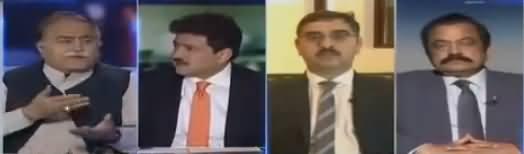 Capital Talk (Pakistani Siasat Mein Joote Ka Kirdar) - 14th March 2018