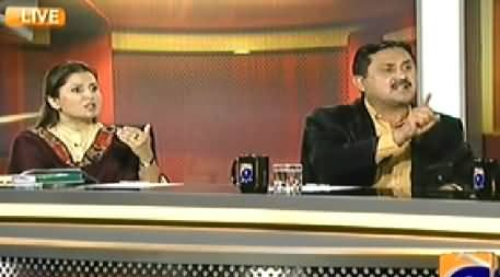 Capital talk (Parliament Mein Charas, Sharab Aur Larkiyon Ki Supply Kyun?) - 27th February 2014