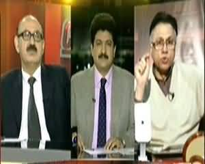 Capital Talk (Pervez Musharraf Pakistan Se Bahir Nahi Ja Sakte) - 6th January 2014