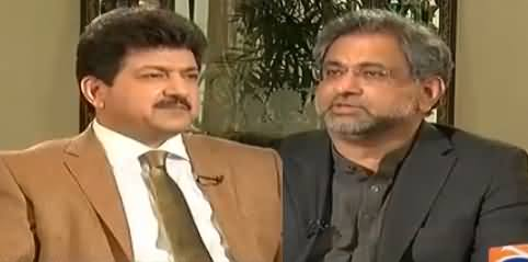 Capital Talk (PM Shahid Khaqan Abbasi Interview) - 8th February 2018
