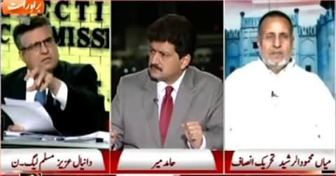 Capital Talk (PMLN Ka NA-125 Ko Supreme Court Mein Challenge Ka Faisla) – 6th May 2015