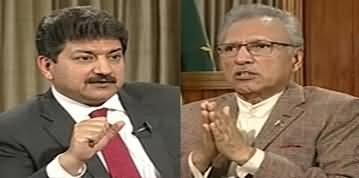 Capital Talk (President Dr. Arif Alvi Exclusive Interview) - 16th March 2020