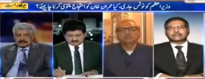 Capital Talk (Prime Minister Ko Notice Jaari) - 20th October 2016