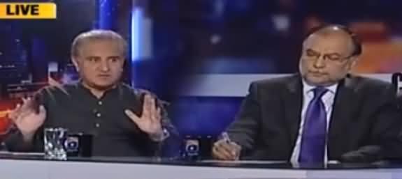 Capital Talk (PTI Aur PMLN Ki Mahaz Arai) - 24th October 2016