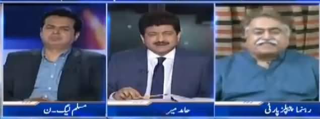 Capital Talk (PTI Aur PPP Ki Dosti Khatam) - 31st July 2017